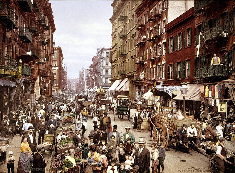 New York City Circa 1900: A photo essay | Detroit Publishing Co. via the United States Library of Congress's Prints and Photographs division under the digital ID LOC 3g04637u