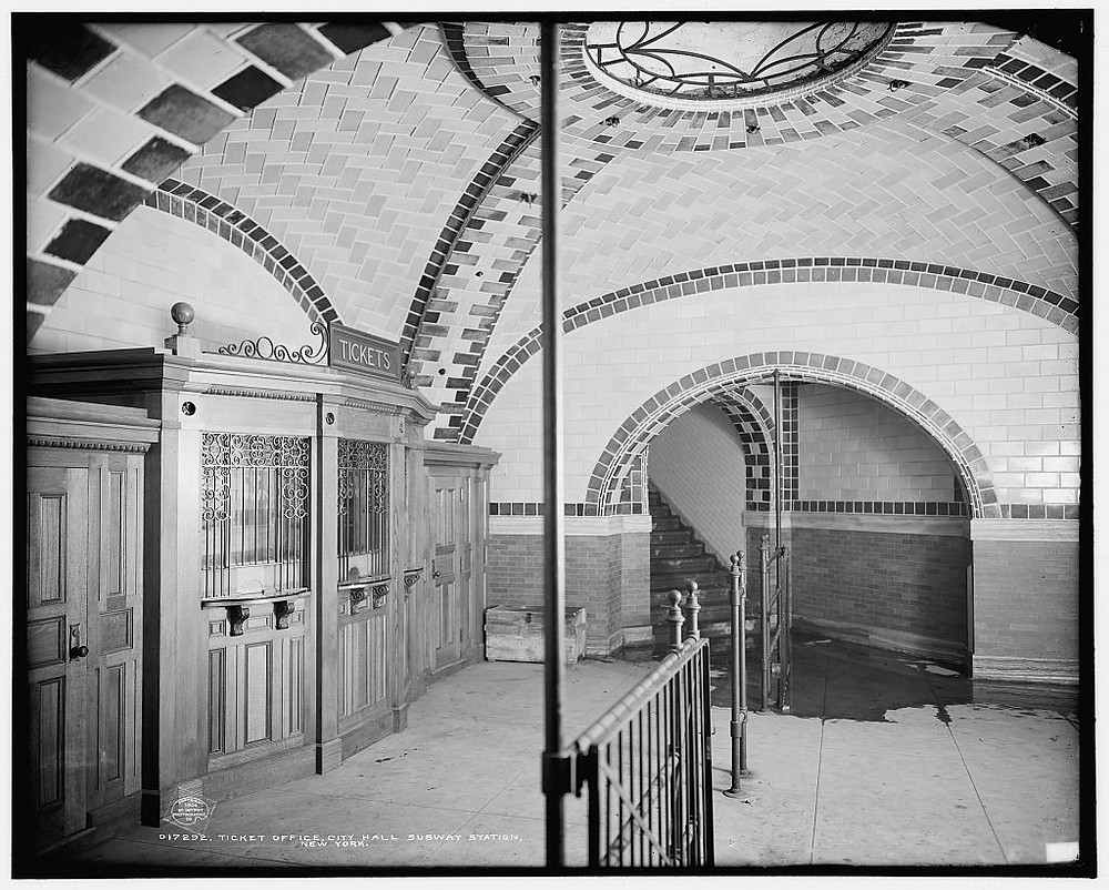 The New York City Subway: A ludicrous concoction of clashes | City Hall Train Station in New York City, 1904