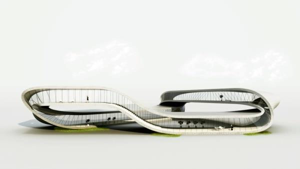 The Future of Architecture is 3D Printed | Landscape House, Universe Architecture