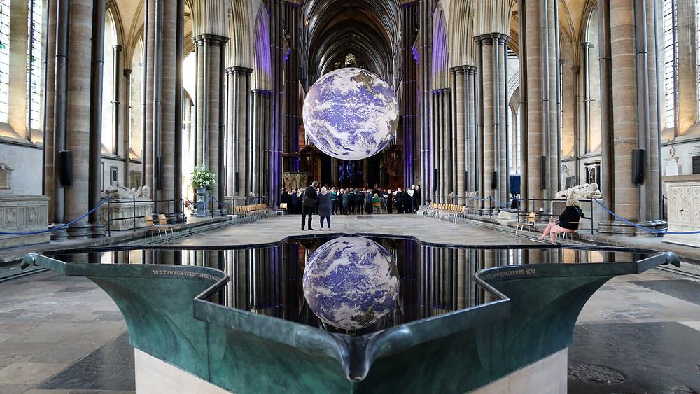 Gaia at Salisbury International Festival by Luke Jerram