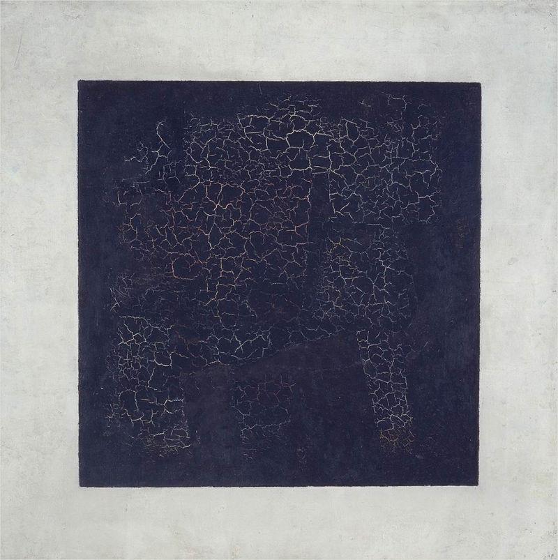 """Black Square"" (1915) by Kazimir Malevich"