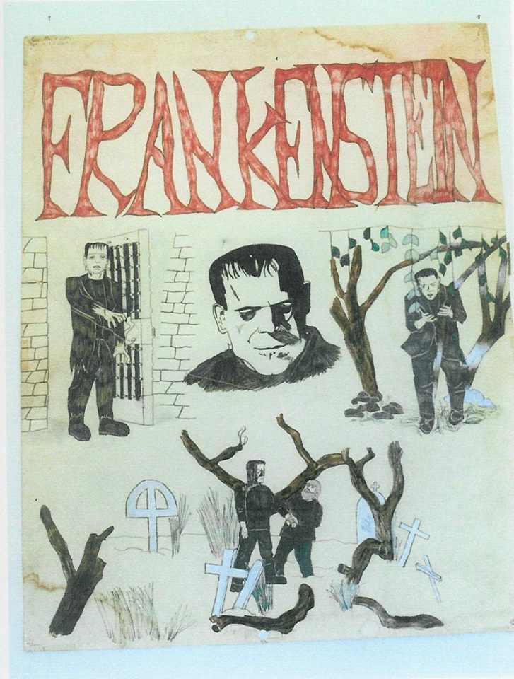 The Art Of Frankenstein by Ron