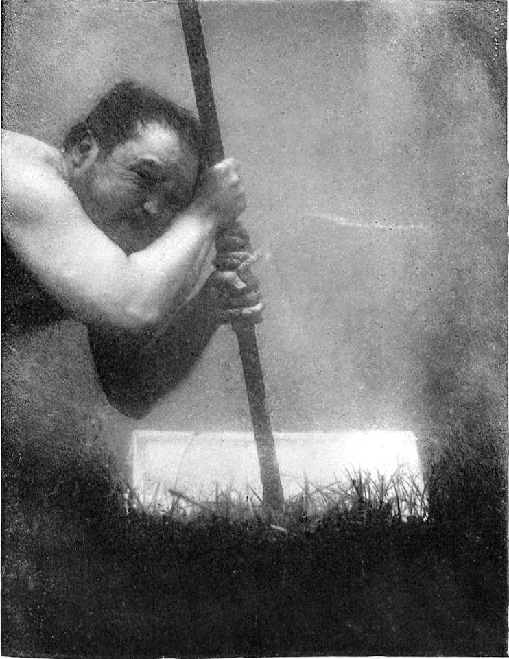 Self Portrait of Louis Boutan Taken in 1893