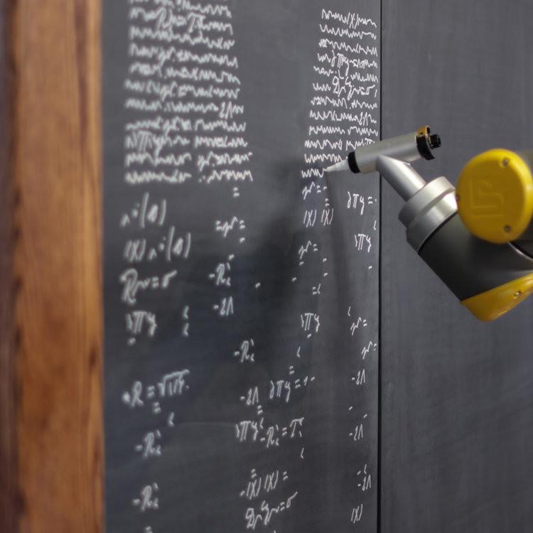 Cobots the Creators: Collaborative robots and the disruption of art | Equations by UR10 via Deeplocal