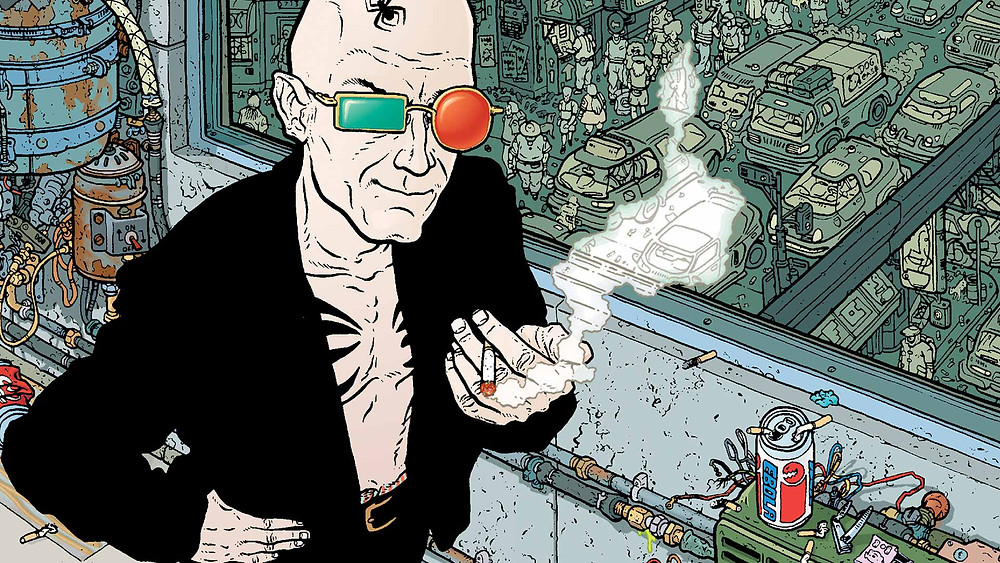 Transmetropolitan: The intrigue of Spider Jerusalem's brazen debauchery  | Volume 1: Back on the Street