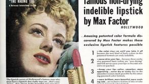 Max Factor Lipstick Ads 1935 — 1960: A photo essay