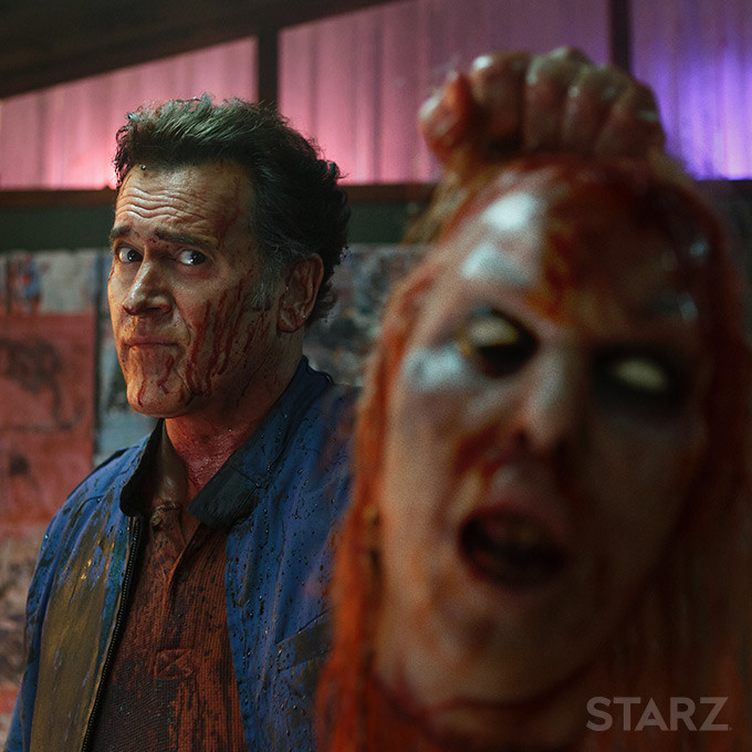 Bruce Campbell on the Legend of Bruce Campbell and 40 years of Evil Dead | Image Curtesy of STARZ