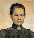Johanna Bonger, by her second husband Jo