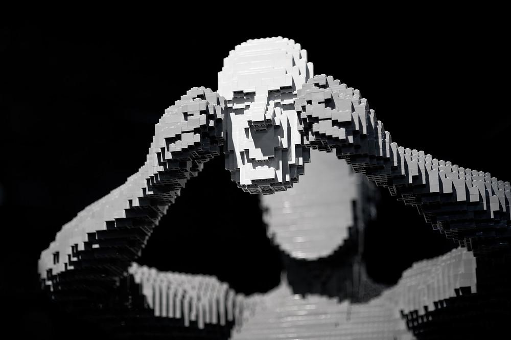 "Pop Culture, Internal Angst, and the LEGO Art of Nathan Sawaya | ""Mask"""