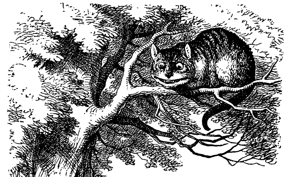 The Cheshire Cat | Illustration by John Tenniel  (1820–1914)