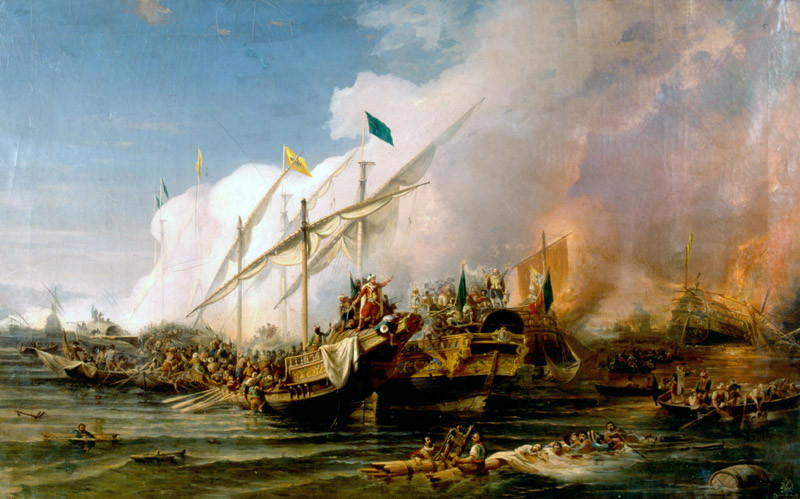 Battles of Barbary Pirates and Privateers: A photo essay