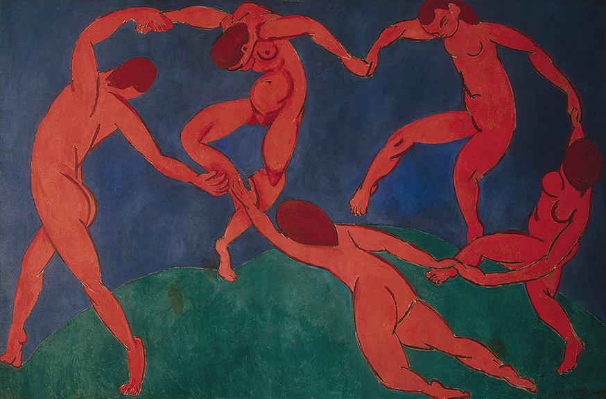 """The Dance"" (1910) by Henri Matisse (1869 — 1954)"