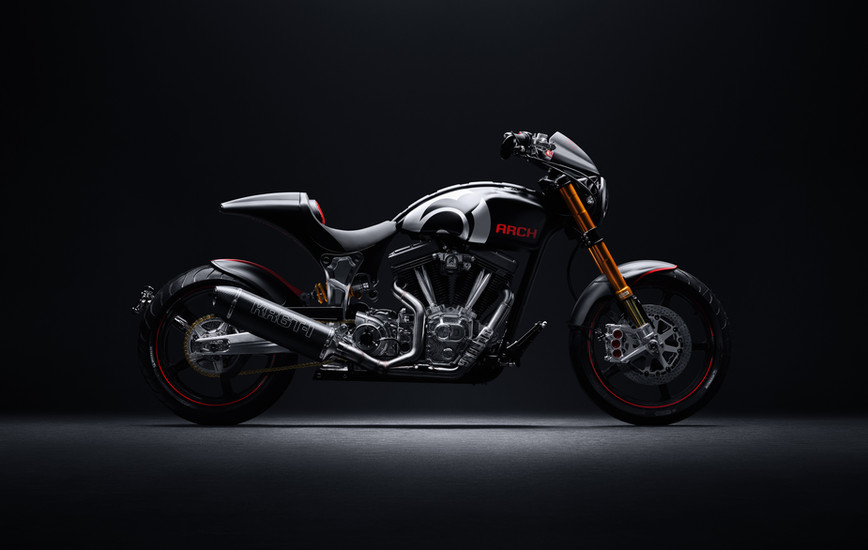 Gard Hollinger Talks Art, Ambition, and Arch Motorcycle