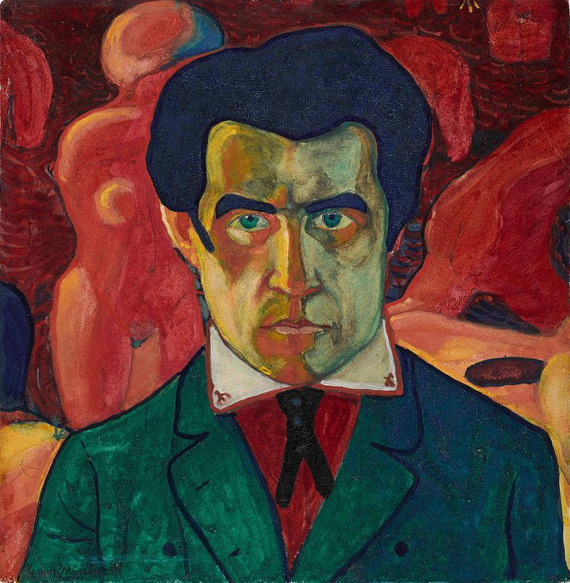 Self-Portrait (1912) by Kazimir Malevich