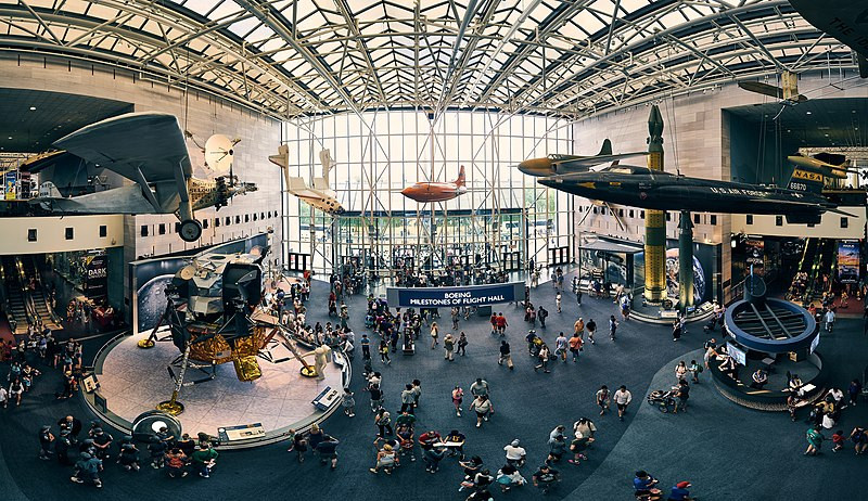 Making a Big Difference on a Small Planet: A conversation with Ellen Stofan, Director of the Smithsonian National Air and Space Museum | Smithsonian National Air and Space Museum, Washington DC | Image Credit: Pedro Szekely Wiki CC BY-SA 2.0