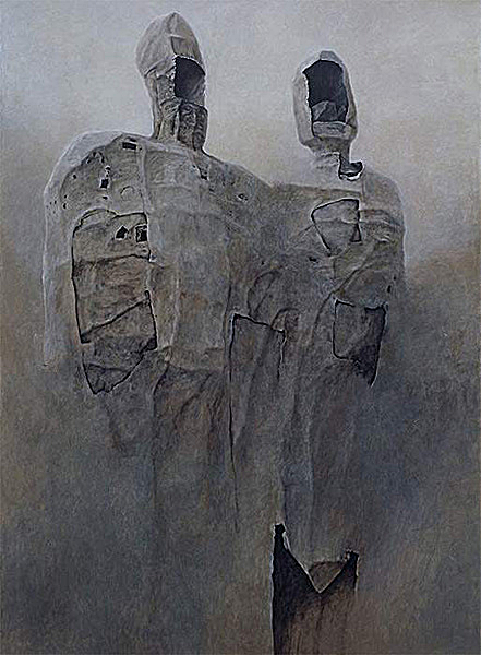 Zdzisław Beksiński and Decay in the Light of Contemporary Polish Art | King and Queen (1993)