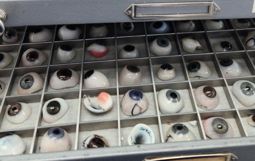 Ocularist John Stolpe Explains the Art Involved in Making Artificial Eyes