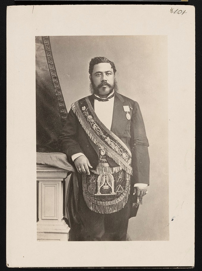 David Kalakaua | Image via Hawaii State Archives
