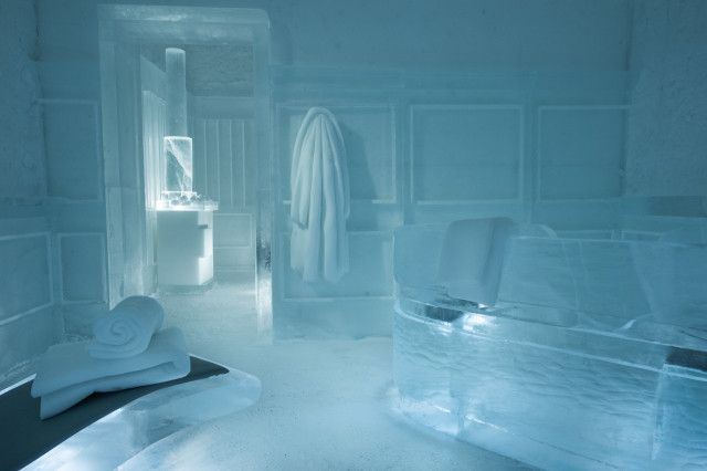 """""""Sauna"""" at Icehotel 365 