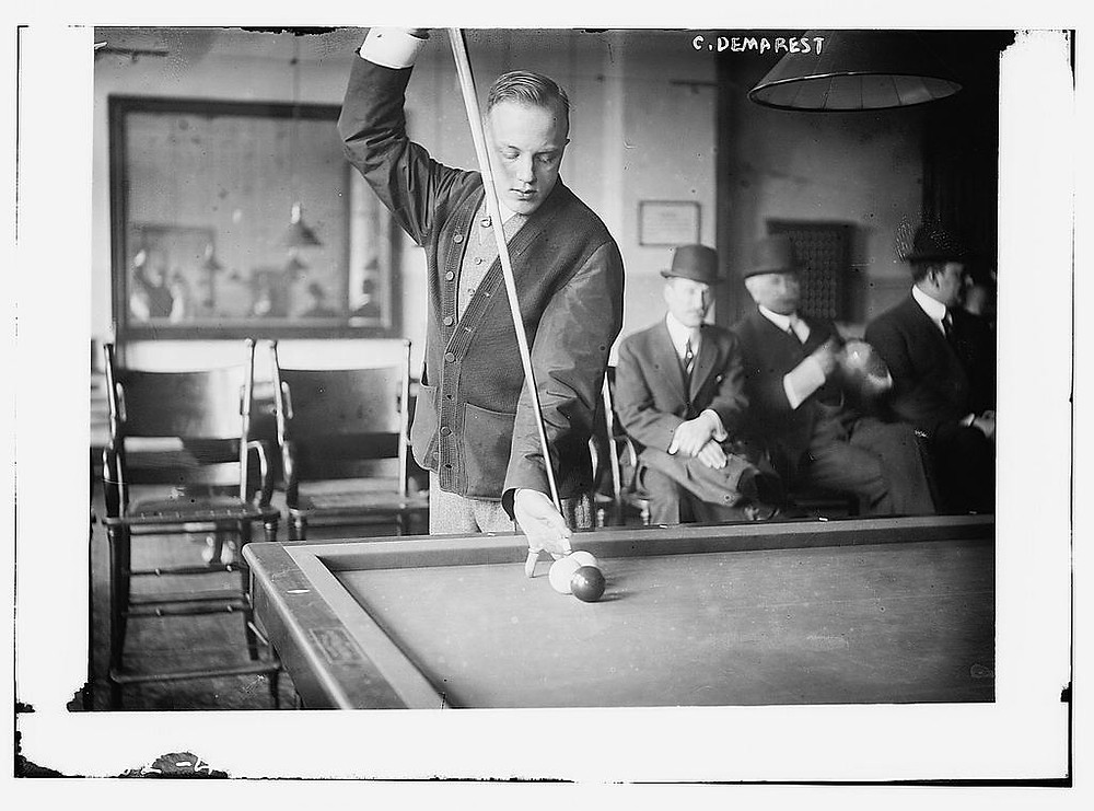 Toys as a Defining Marker of Humanity | C. Demarest [billiards, between ca. 1910 and ca. 1915] | Library of Congress