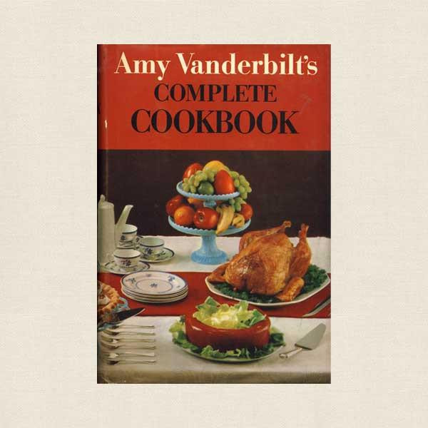 Illustrated Cookbooks: Salvador Dalí & Andy Warhol | Amy Vanderbilt's Complete Cookbook (1961) by Amy Vanderbilt, illustrated by Andy Warhol