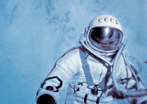 Soviet Spacesuits and the Dawn of Space Exploration  | Leonov's spacewalk (Ria Novosti/Science Photo Library) | Fair Use Wiki