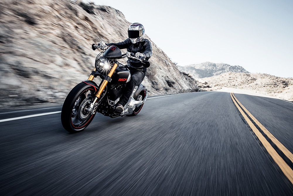 Gard Hollinger talks Art, Ambition, and Arch Motorcycle | Photo credited: Jordan Pay