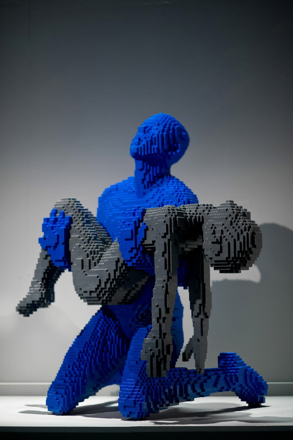 "Pop Culture, Internal Angst, and the LEGO Art of Nathan Sawaya | ""Cracked"""