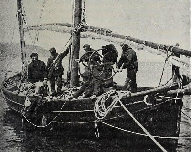 Entering the water at Banyuls-sur-Mer (around 1893)
