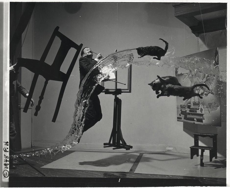 Dali Atamicus (1948) by Halsman, Philippe (1906-1979)
