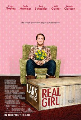 Film poster for Lars and the Real Girl - Copyright 2007, Metro-Goldwyn-Mayer