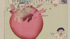 Toys in Satire and Political Commentary on the Russo-Japanese War by Kobayashi Kiyochika