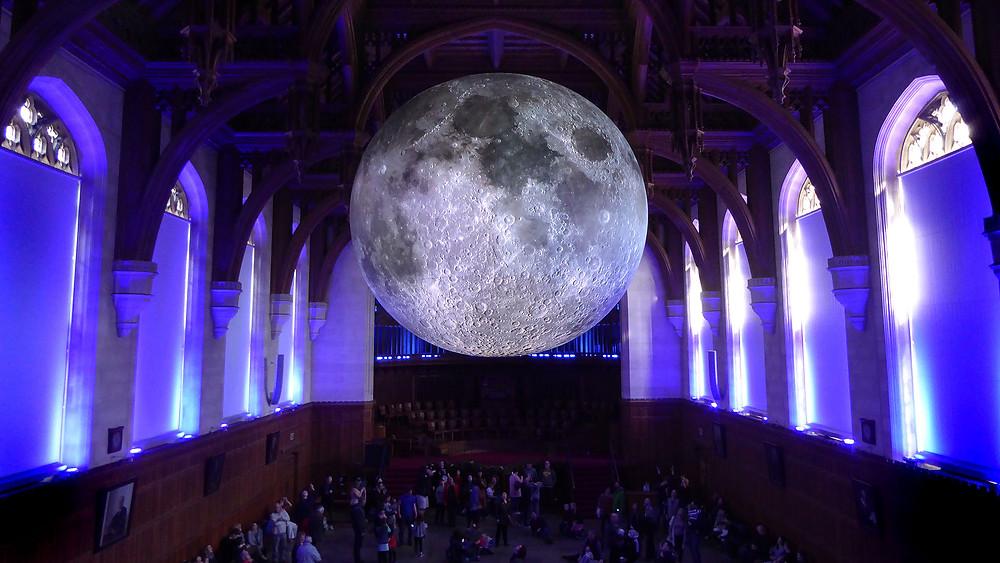 Museum of the Moon in Rennes, France by Luke Jerram