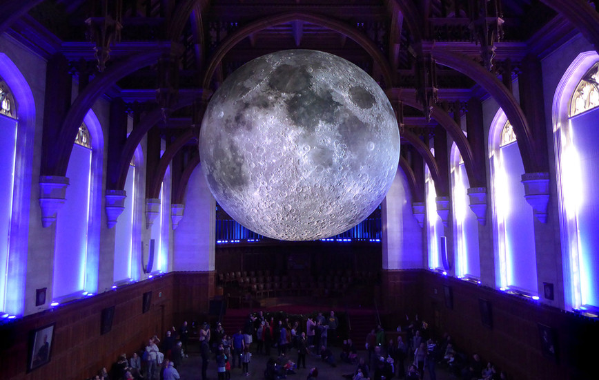 Beyond the Limits of Our Senses: Luke Jerram on art, science, and the Museum of the Moon