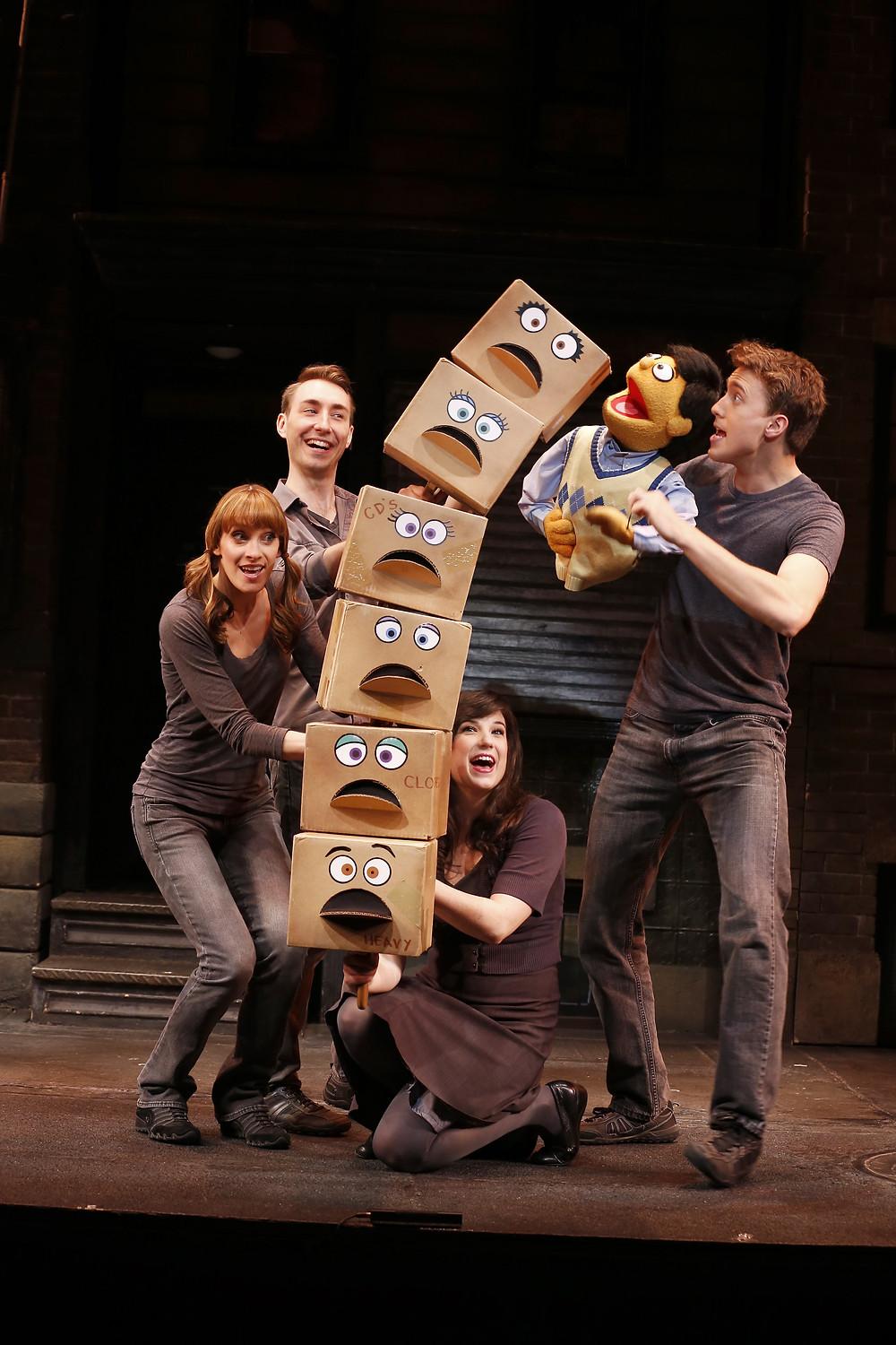 Lexy Fridell, Jason Jacoby, Veronica Kuehn and Darren Bluestone | 2013 |  Avenue Q