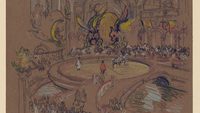 Pigment and Concrete: New York City through the eyes of American illustrator Joseph Pennell
