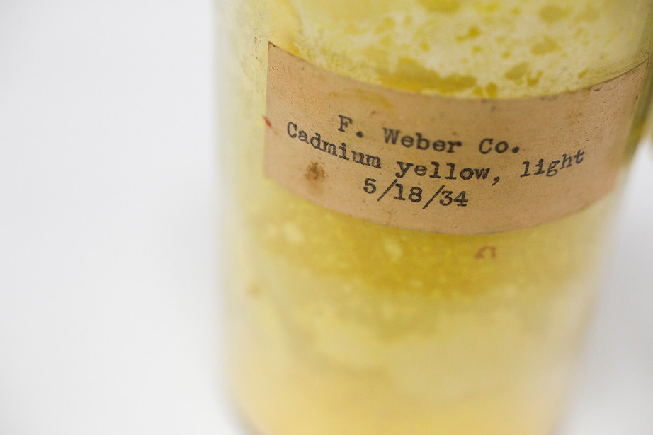 The Hues of Human History: Narayan Khandekar on art, conservation, and the Forbes Pigment Collection   Cadmium Yellow, Light by Stephanie Mitchell, Harvard Staff Photographer © President and Fellows of Harvard College.