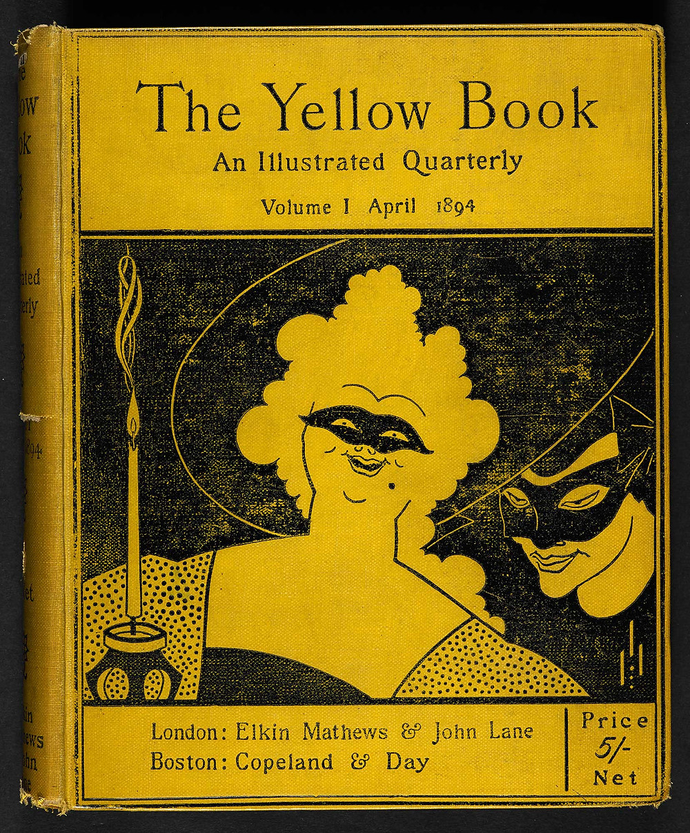 Masquerade, The Yellow Book Debut Cover | The Aestheticization of Deviance