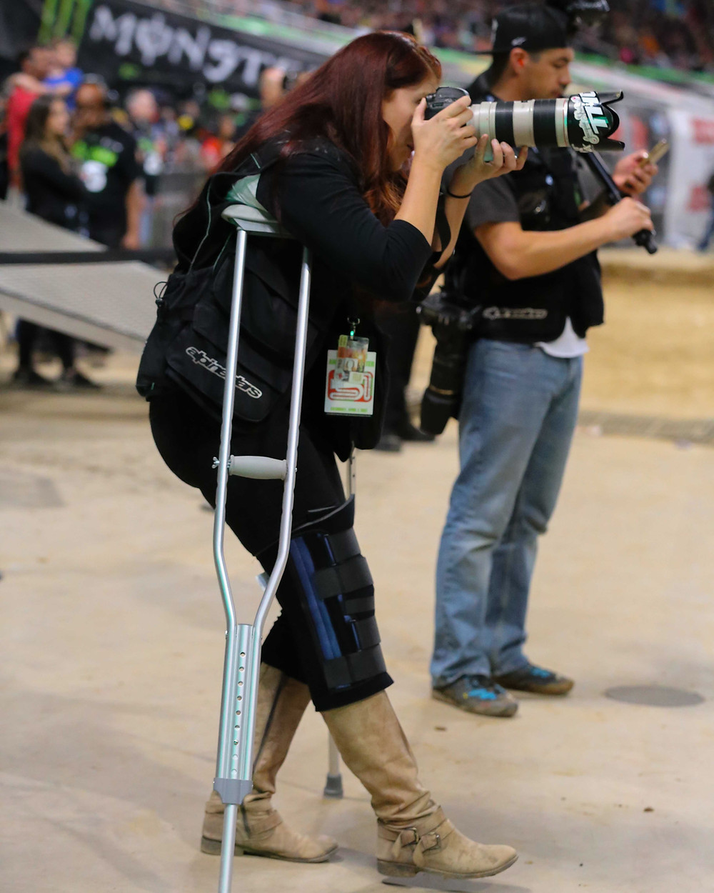 Just a Girl in a Motocross World: A conversation with professional sports photographer, Krystyn Slack