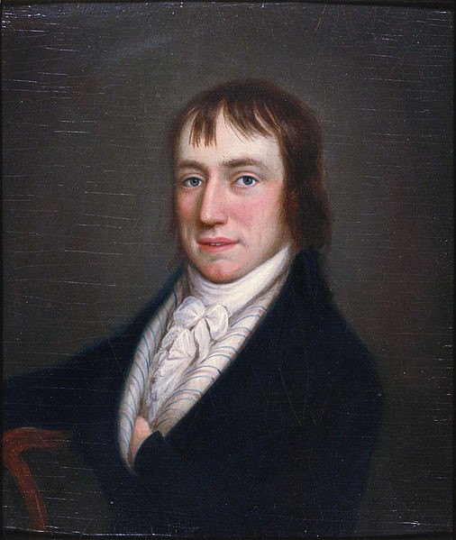 A Word About Transport: Poems by Wordsworth, Pound, and Frost | William Wordsworth William Wordsworth (1770 — 1850) by William Shuter