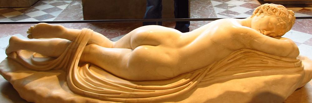 Sleeping Hermaphrodite | Brief History of Public Erotic Art