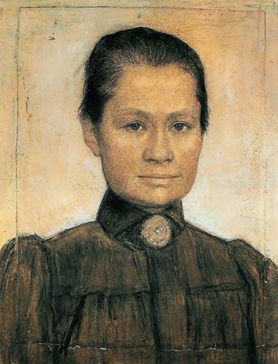 Johanna Bonger (1905) by Johan Cohen Gosschalk