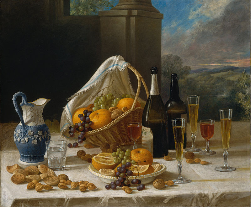 "A Quick History of Dining Practices | ""Luncheon Still Life"" (1860) by John F. Francis"