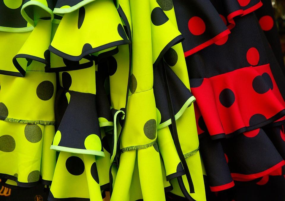 Polka Dots on Flamenco Skirts | Via Pixabay