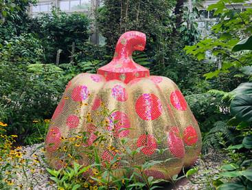 "Event Spotlight: ""KUSAMA | COSMIC NATURE"" now on view at the New York Botanical Garden"