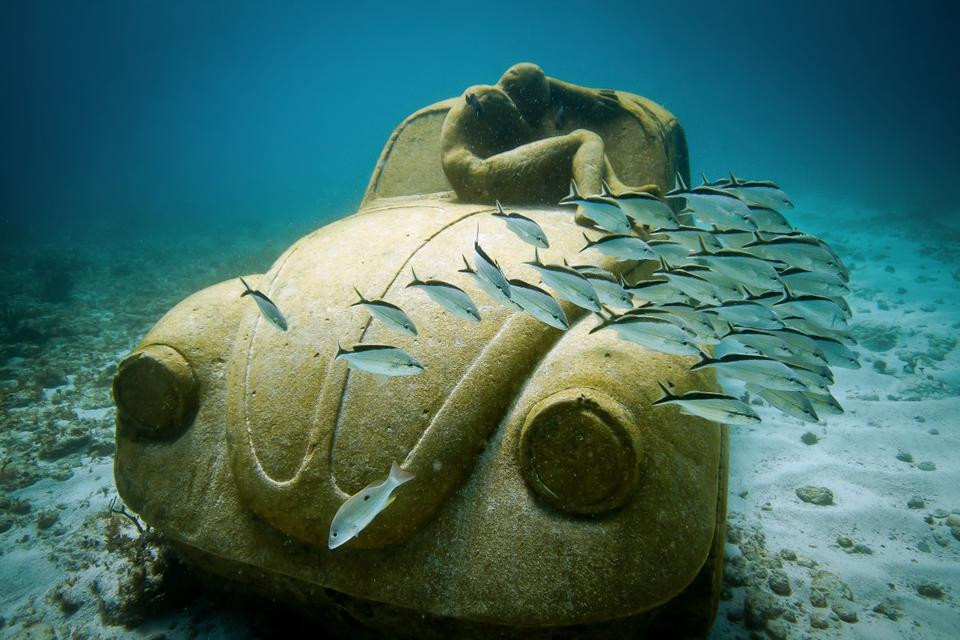 """""""Anthropocene"""" in Mexico by Jason deCaires Taylor"""