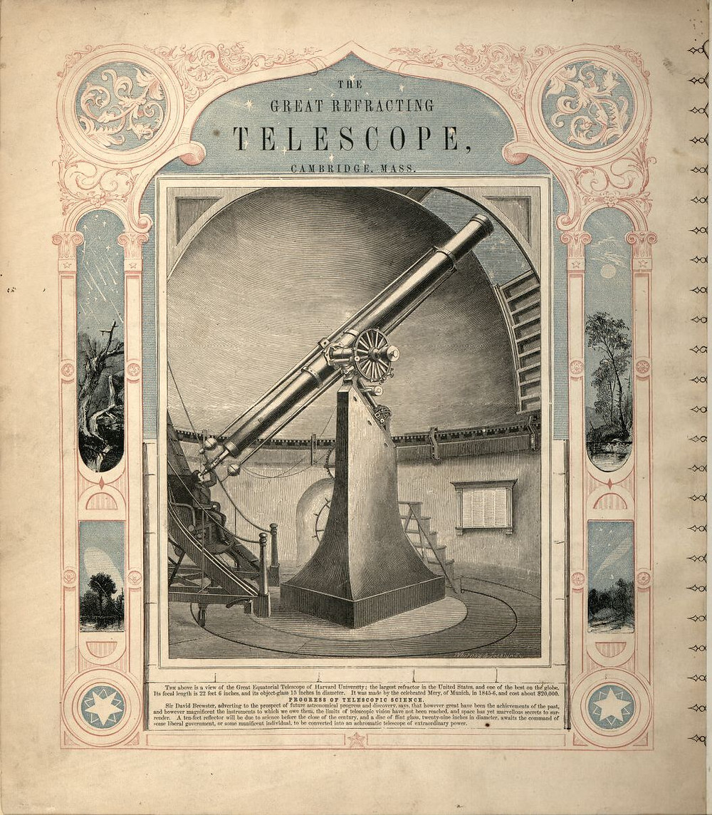 Back Cover: The Great Refracting Telescope