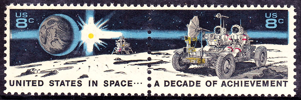 Space Achievement Decade | Moon Landing and NASA Astronauts | August 2, 1971 | Public Domain Wiki
