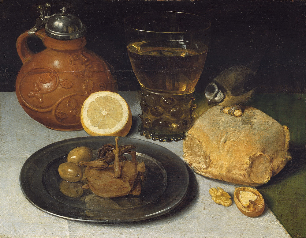 The Curious Intersection of Food and Fine Art |  by Georg Flegel (1625–30)
