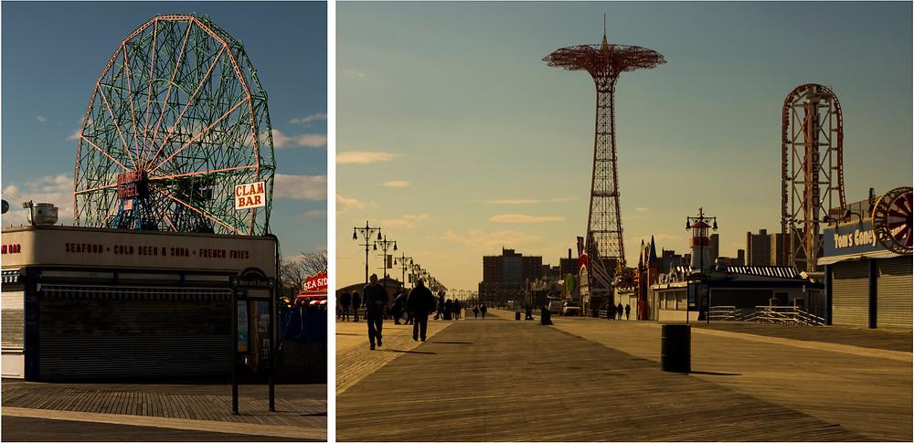 Iconic Film Locations in NYC: Coney Island Boardwalk